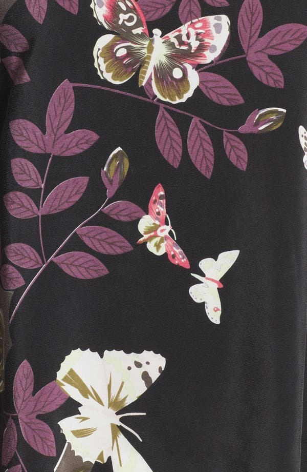 Alternate Image 3  - Citron Floral Print Silk Tunic