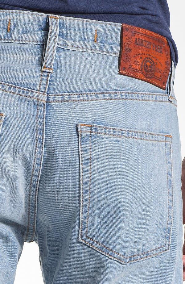 Alternate Image 4  - Asbury Park '1874 Monte Carlo' Straight Leg Selvedge Jeans (Paramount)