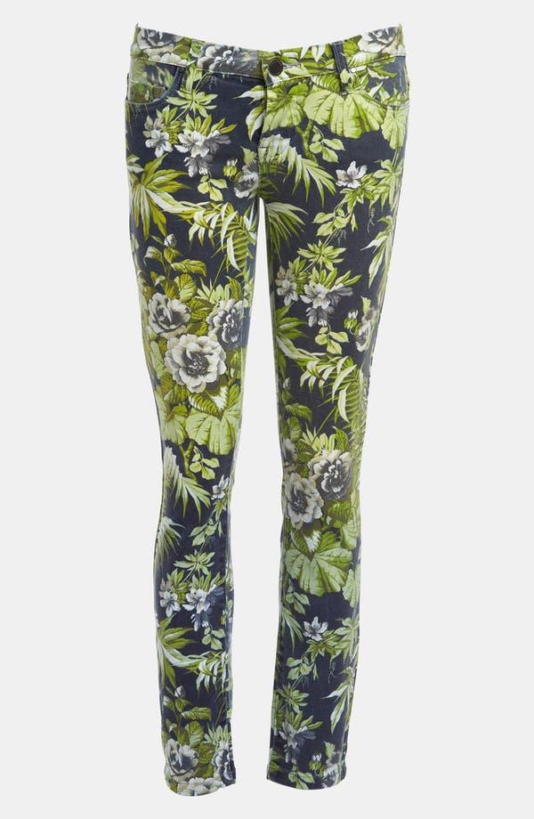 Main Image - BLANKNYC 'Tropical Rain - The Stick Shift' Cigarette Leg Jeans