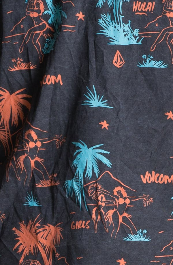 Alternate Image 2  - Volcom 'Mental Fun' Print Woven Shirt