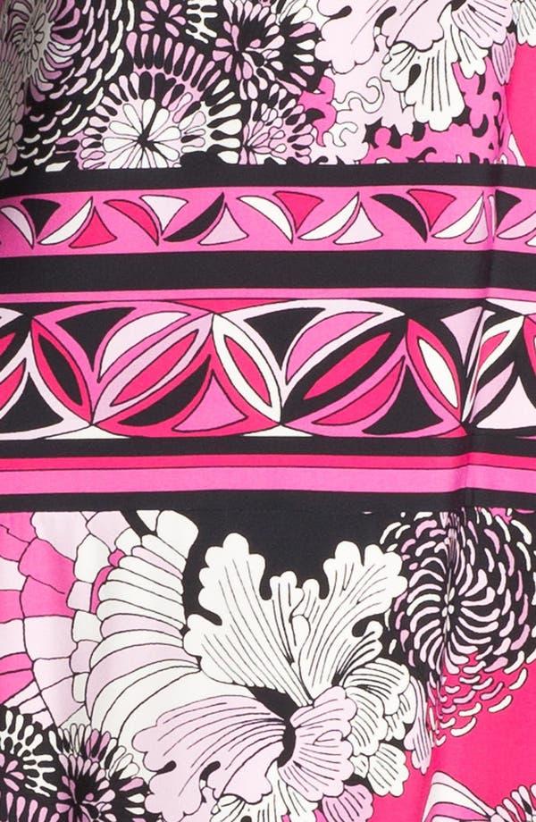 Alternate Image 3  - Donna Morgan 'Julie' Print Matte Jersey Shift Dress