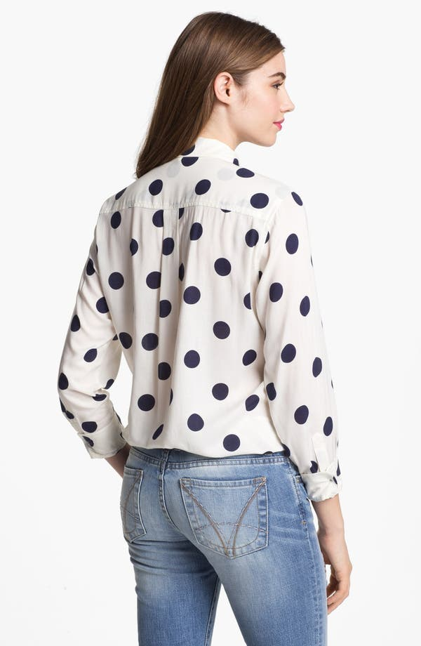 Alternate Image 2  - Two by Vince Camuto Polka Dot Shirt