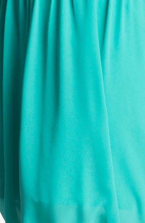 Alternate Image 3  - Jessica Simpson Lace & Chiffon Surplice Dress