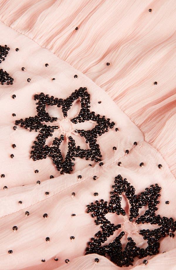 Alternate Image 3  - Topshop 'Debutante' Beaded Midi Dress