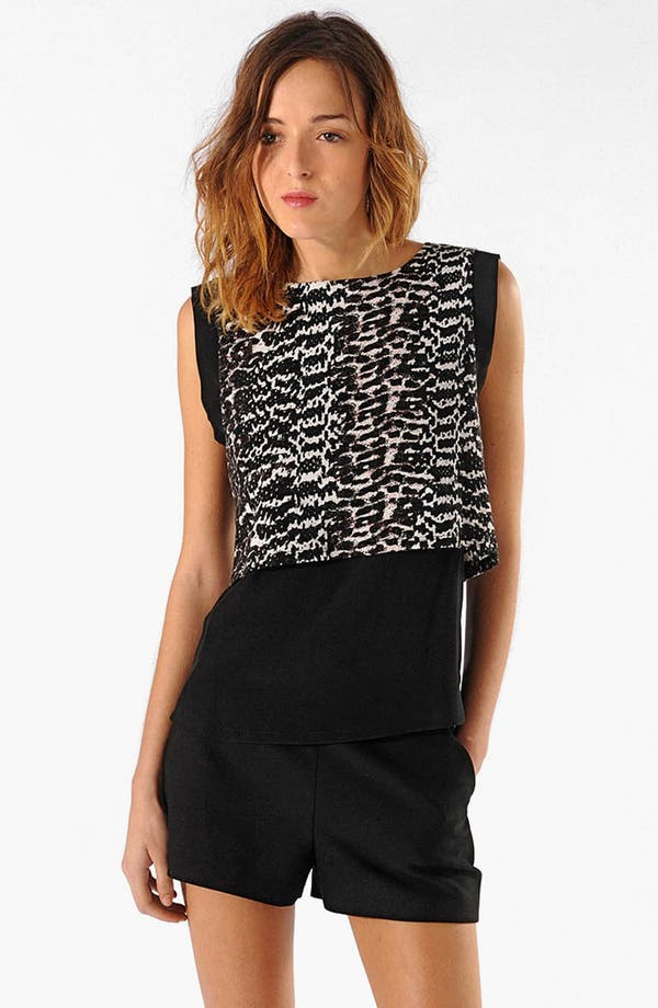 Alternate Image 1 Selected - maje 'Altro' Layered Top