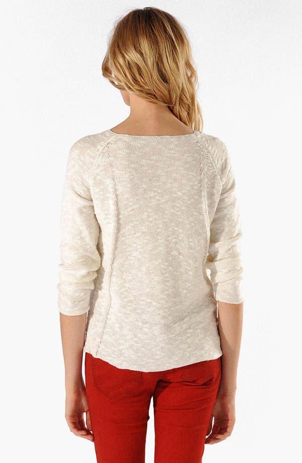 Alternate Image 2  - maje 'Arizane' Bouclé Sweater