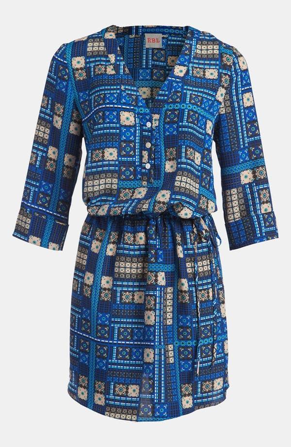 Alternate Image 2  - RBL Cuffed Sleeve Dress