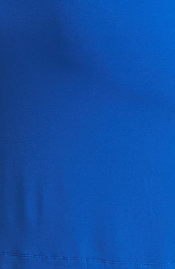 Alternate Image 3  - Donna Ricco Knot Front Jersey Dress (Plus Size)
