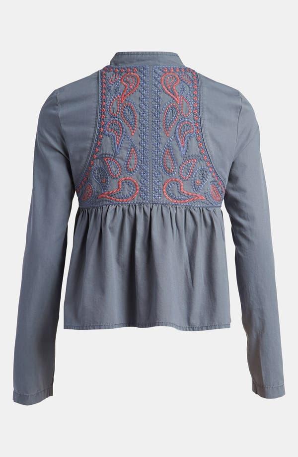 Alternate Image 2  - Leith 'Embroidered Island' Jacket