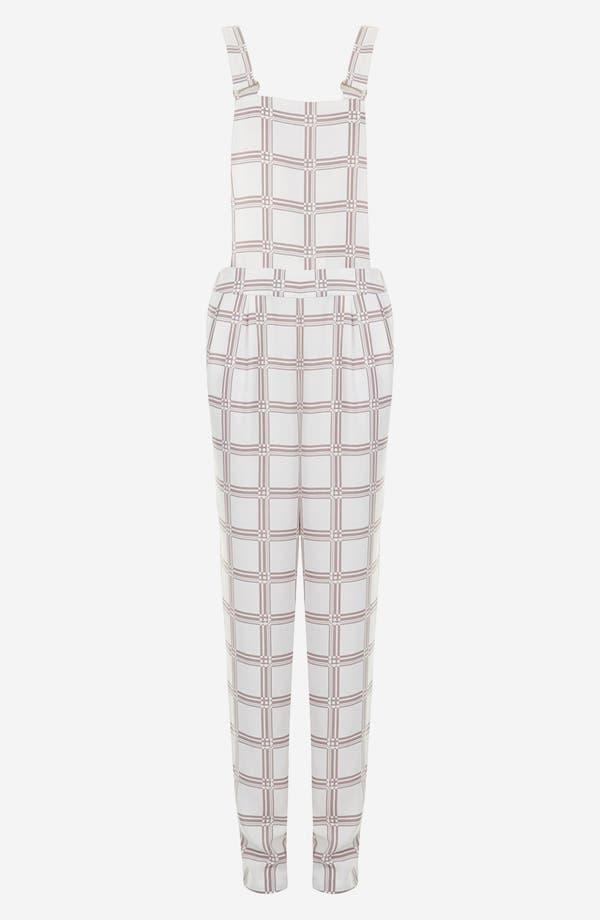 Alternate Image 3  - Topshop Checkered Jumpsuit