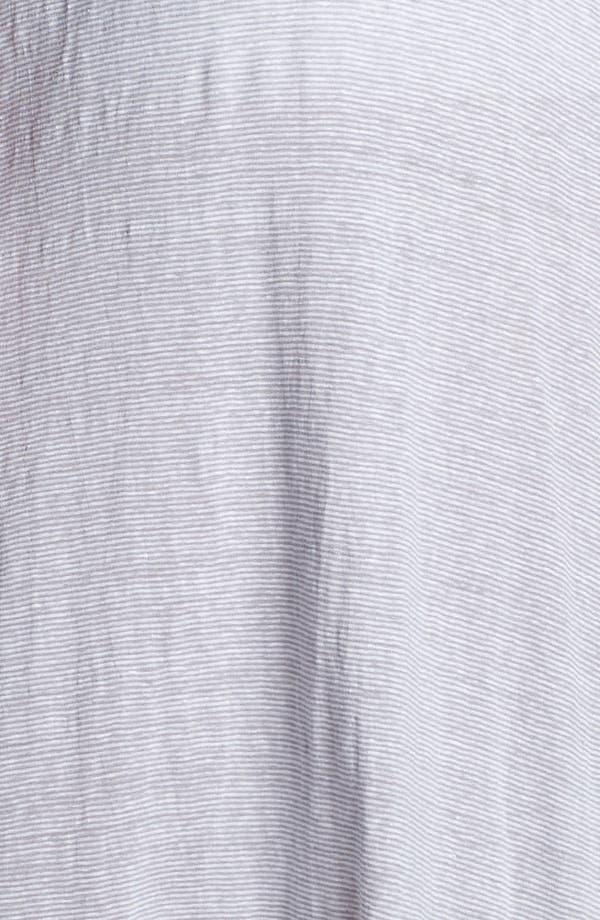 Alternate Image 3  - Eileen Fisher Stripe Linen Skirt (Plus Size)
