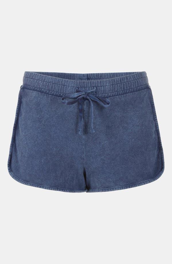 Alternate Image 3  - Topshop Acid Wash Shorts