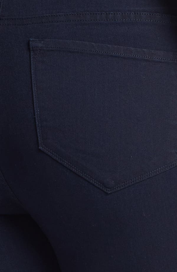 Alternate Image 3  - NYDJ 'Jaclyn' Stretch Skinny Jeans (Resin) (Plus Size)