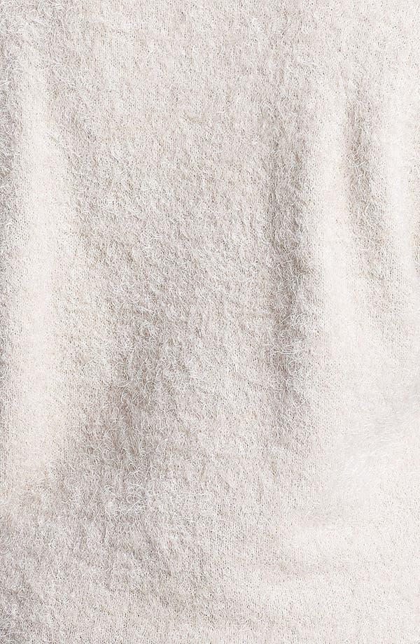 Alternate Image 3  - Love By Design Tiger Eyelash Sweater (Juniors Plus)