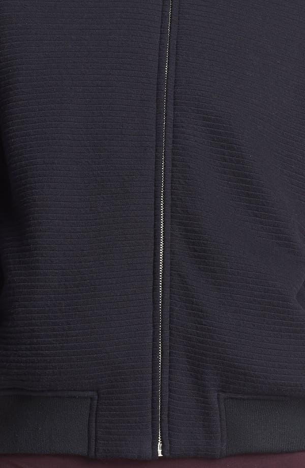 Alternate Image 4  - T by Alexander Wang Ottoman Stitch Bomber Jacket