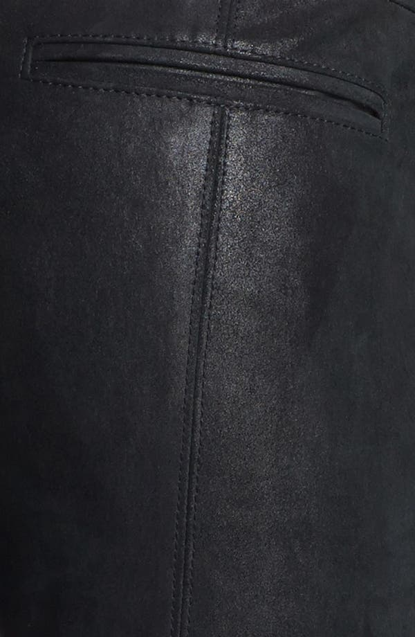 Alternate Image 3  - Helmut Lang Stovepipe Stretch Leather Leggings