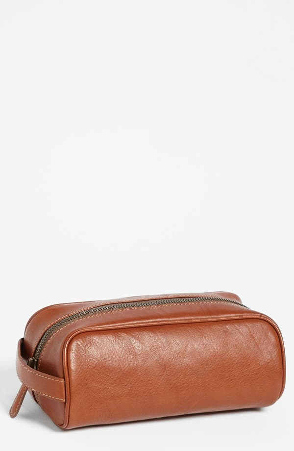 Alternate Image 1 Selected - Bosca Leather Travel Kit