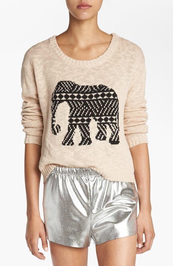 Alternate Image 1 Selected - MINKPINK 'Pride of Place' Crop Sweater