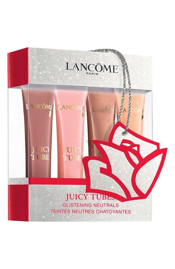 Main Image - Lancôme 'Juicy Tubes - Glistening Neutrals' Ultra Shiny Lip Gloss Set ($72 Value)