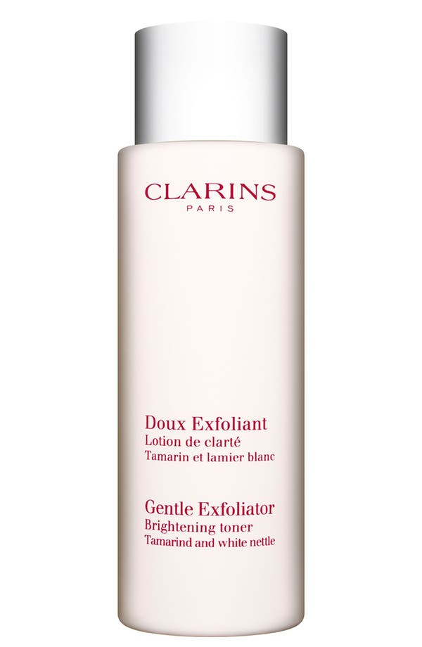 Alternate Image 1 Selected - Clarins 'Gentle Exfoliator' Brightening Toner