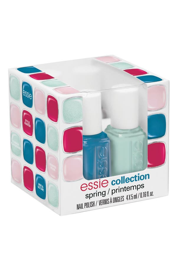 Alternate Image 1 Selected - essie® 'Spring 2014' Mini Four-Pack