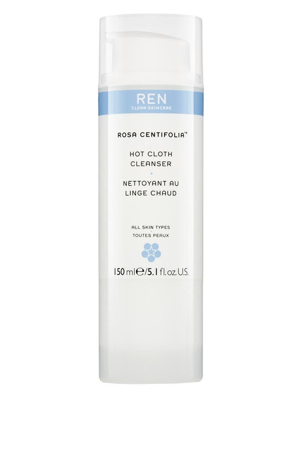 Alternate Image 1 Selected - REN 'Rosa Centifolia™' Hot Cloth Cleanser