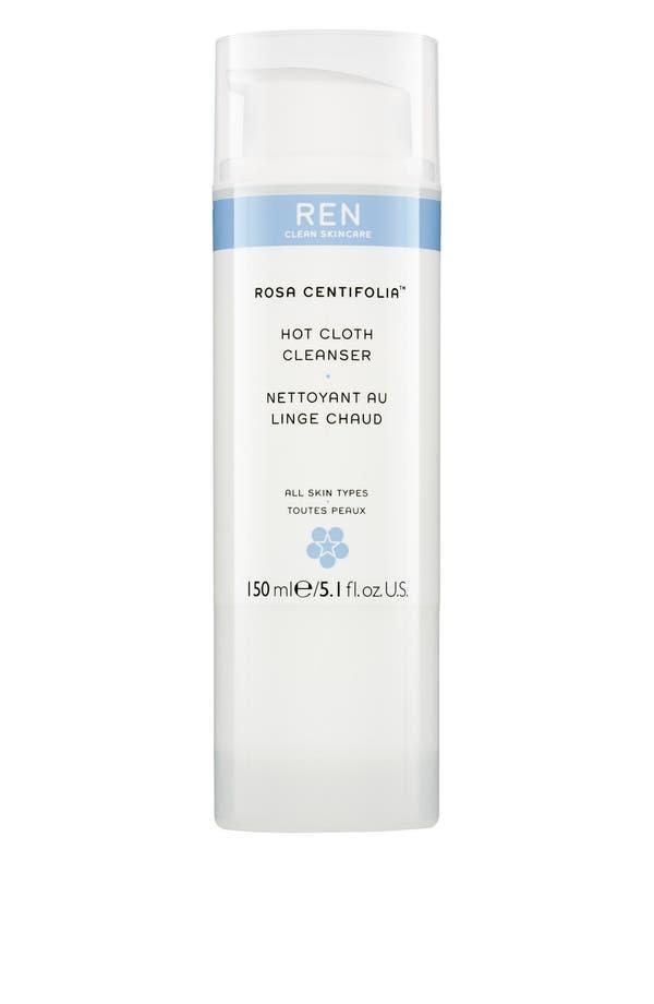 Main Image - REN 'Rosa Centifolia™' Hot Cloth Cleanser