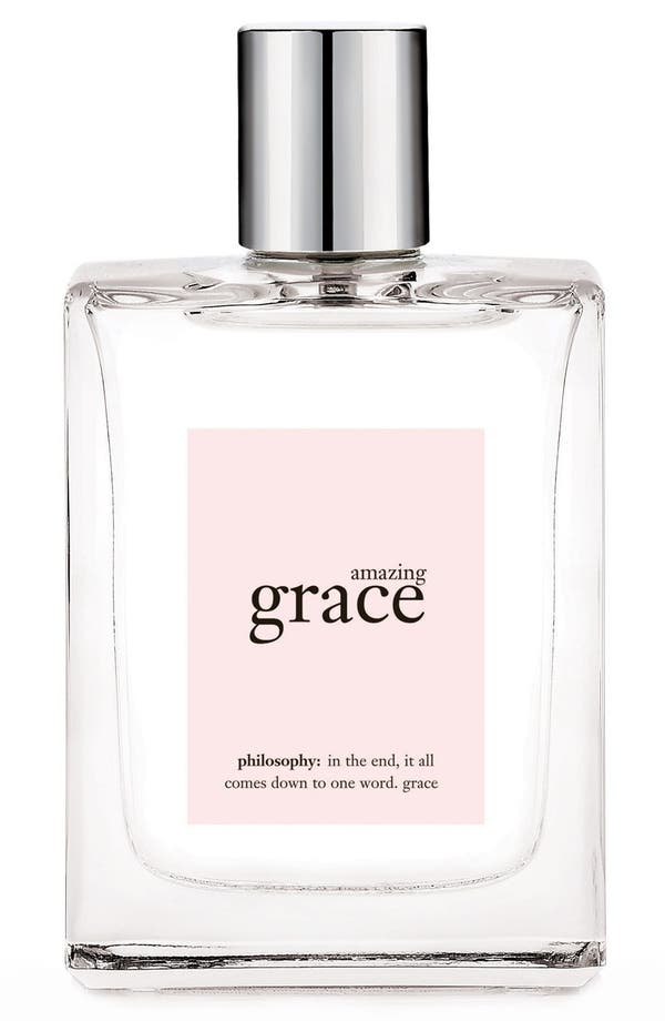 Alternate Image 1 Selected - philosophy 'amazing grace' eau de toilette spray
