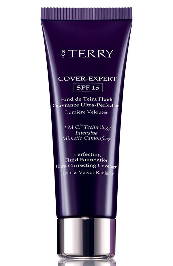 SPACE.NK.apothecary By Terry Cover-Expert Perfecting Fluid Foundation SPF 15,                             Main thumbnail 1, color,                             11 Amber