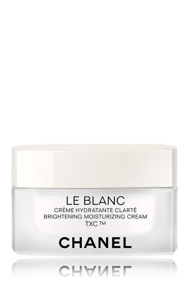 Alternate Image 1 Selected - CHANEL LE BLANC  Brightening Moisturizing Cream TXC™
