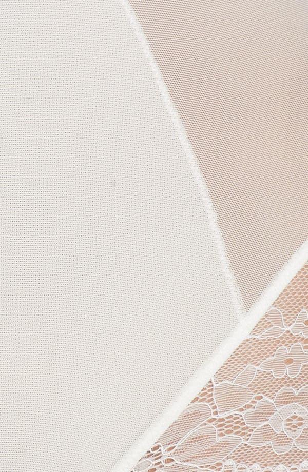 Spotlight On Lace Briefs,                             Alternate thumbnail 4, color,                             White