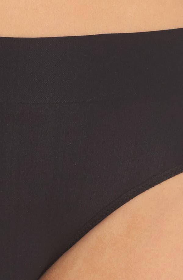 Alternate Image 5  - DKNY LiteWear Seamless Bikini (3 for $33)