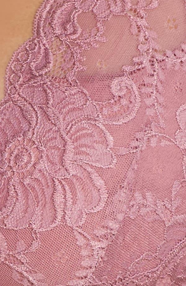 Alternate Image 6  - Oh La La Cheri Suzette Lace Teddy (Plus Size)