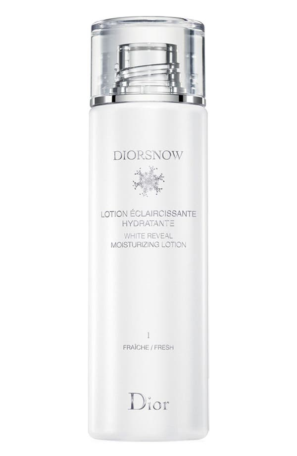 Main Image - Dior 'Diorsnow' White Reveal Moisturizing Lotion Fresh