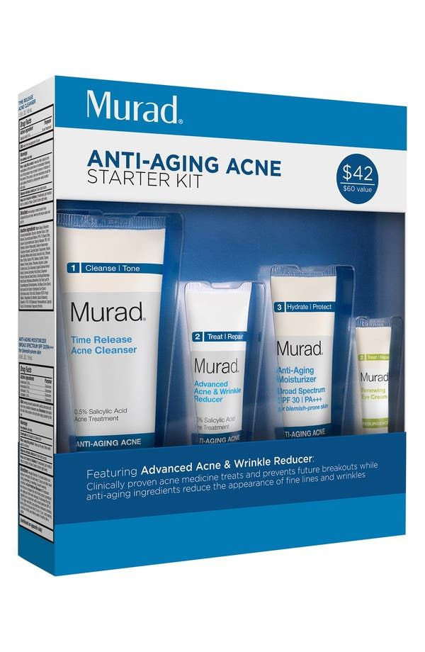 'Anti-Aging Acne' Starter Kit,                         Main,                         color, No Color