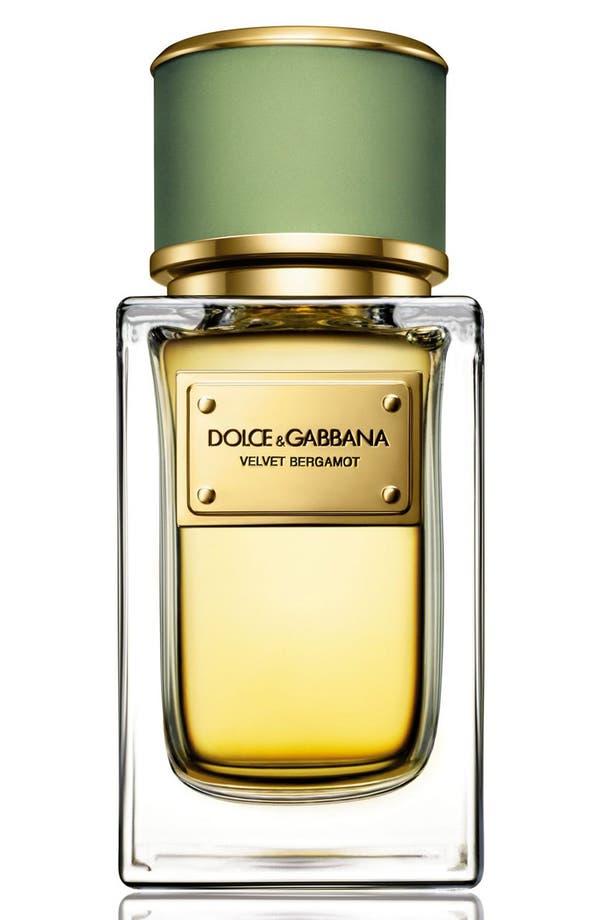 Main Image - Dolce&Gabbana Beauty Velvet Bergamot Eau de Parfum