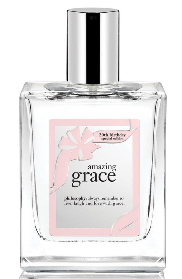 Main Image - philosophy '20th birthday - amazing grace' eau de toilette spray (Limited Edition)