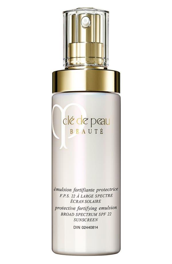 Main Image - Clé de Peau Beauté Protective Fortifying Emulsion Broad Spectrum SPF 22