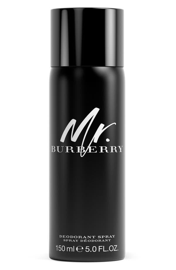 Alternate Image 1 Selected - Burberry 'Mr. Burberry' Deodorant Spray