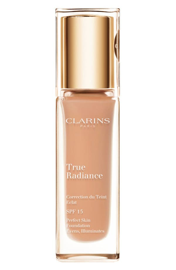 Alternate Image 1 Selected - Clarins 'True Radiance' SPF 15 Perfect Skin Foundation