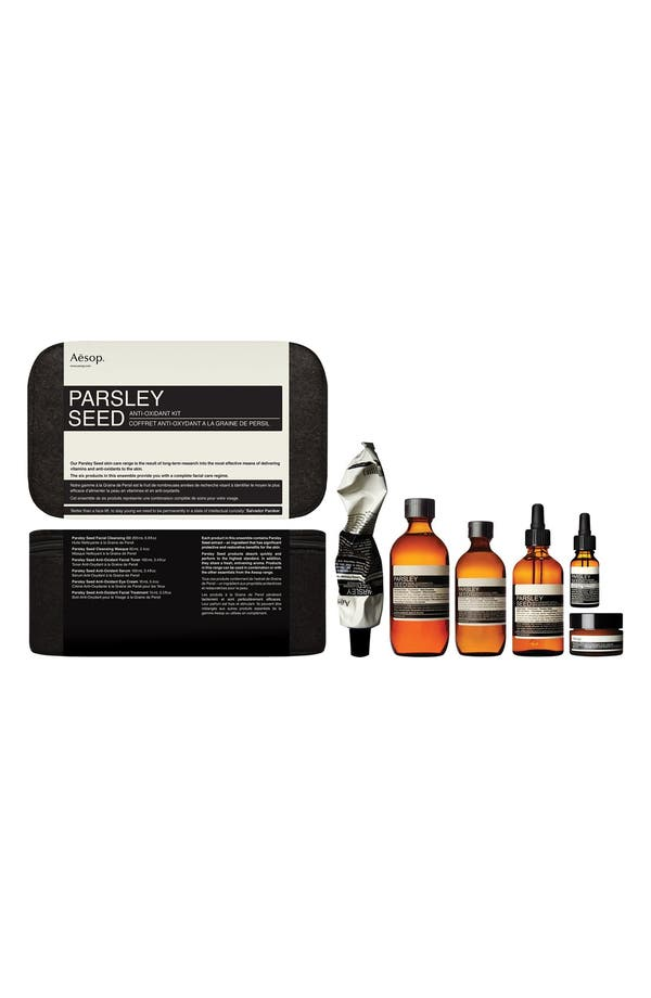 Parsley Seed Anti-Oxidant Kit,                             Main thumbnail 1, color,                             None