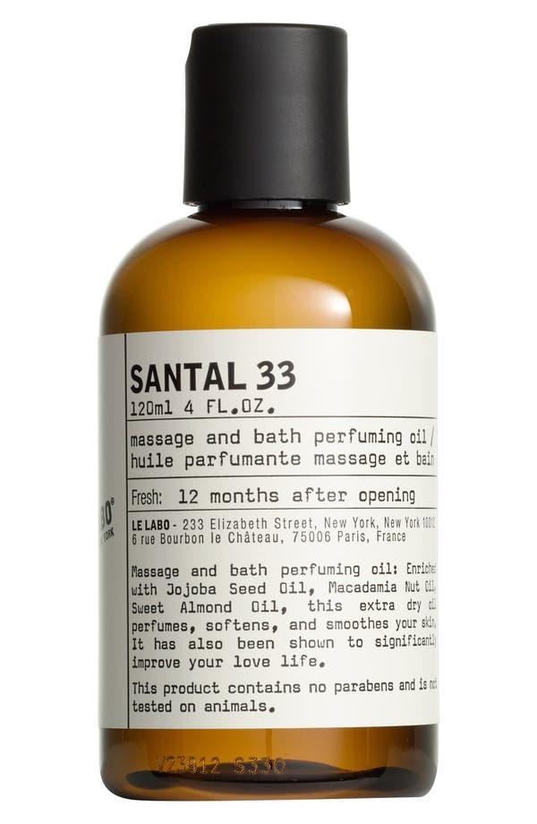 'Santal 33' Body Oil,                         Main,                         color, No Color
