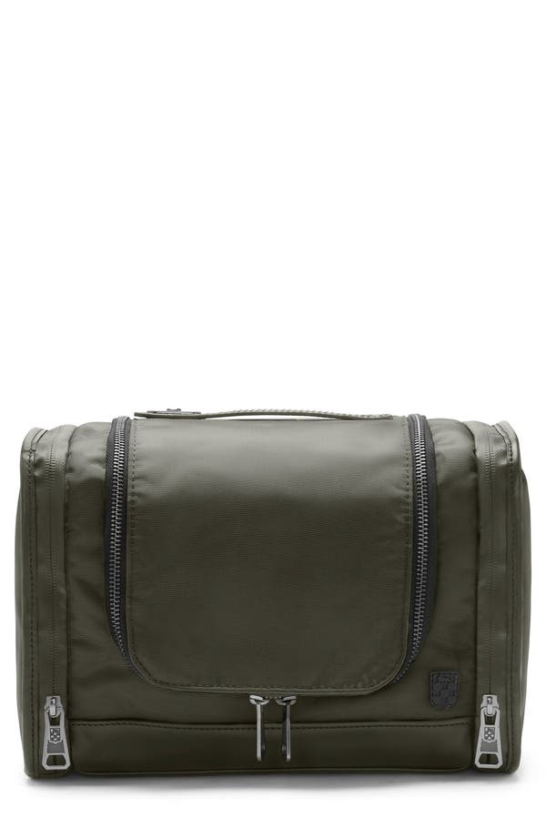 Lecco Travel Kit,                         Main,                         color, Olive