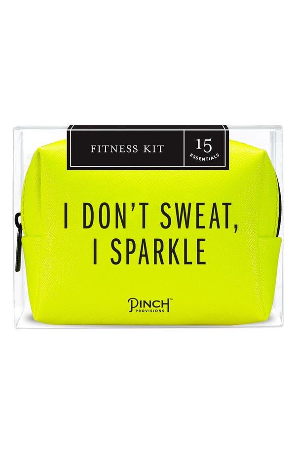 'Fitness' Kit,                         Main,                         color, Yellow/ Black