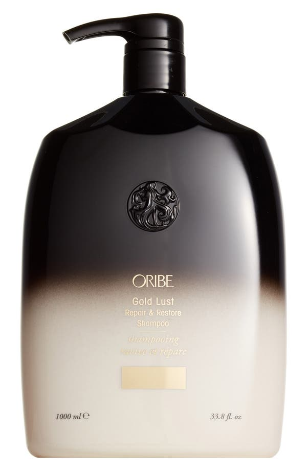 Alternate Image 2  - SPACE.NK.apothecary Oribe Gold Lust Repair & Restore Shampoo