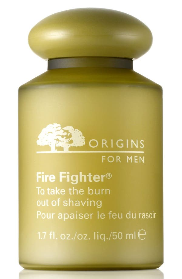 Fire Fighter<sup>®</sup> to Take the Burn Out of Shaving,                         Main,                         color, No Color