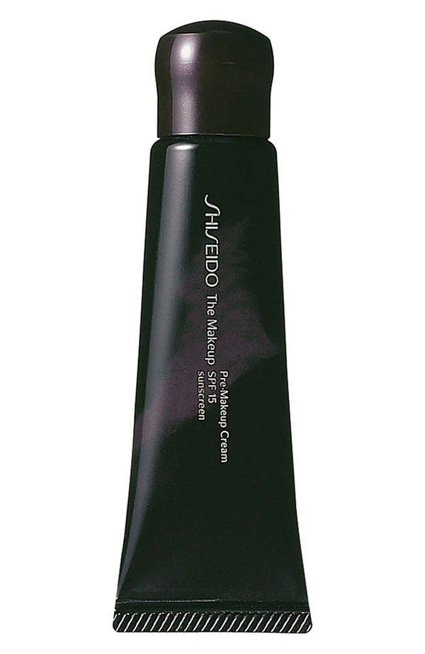 Main Image - Shiseido 'The Makeup' Pre-Makeup Cream SPF 15