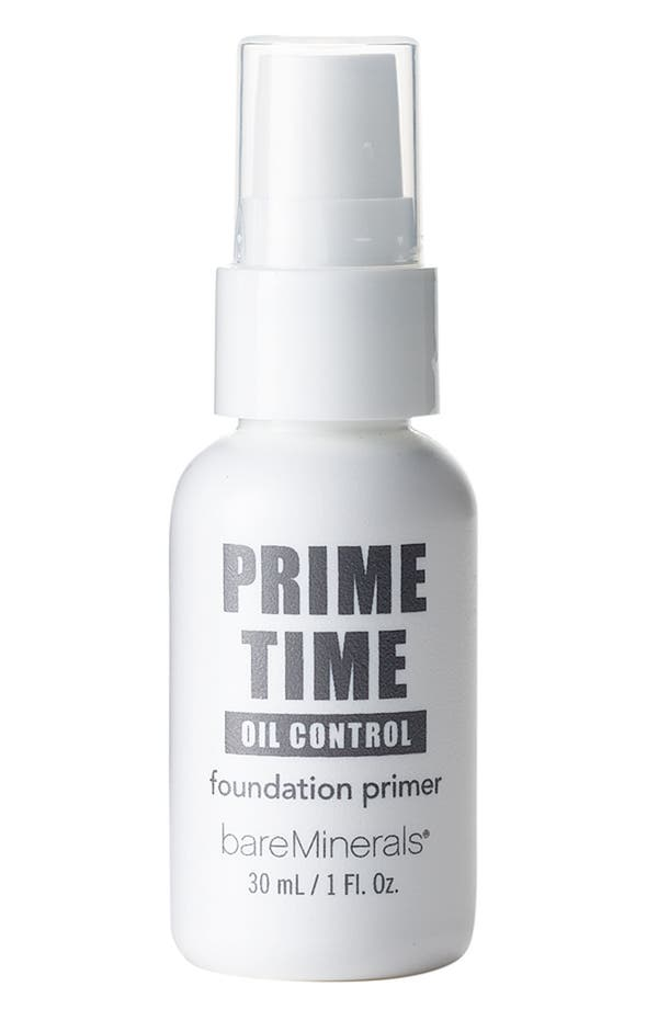 Alternate Image 1 Selected - Bare Escentuals® bareMinerals® 'Prime Time' Oil Control Foundation Primer