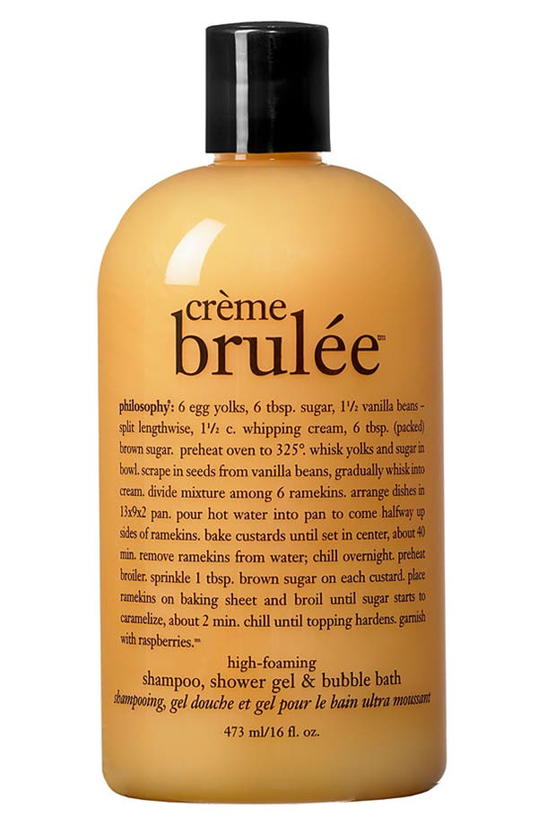 Philosophy Cr 232 Me Brul 233 E High Foaming Shampoo Shower Gel