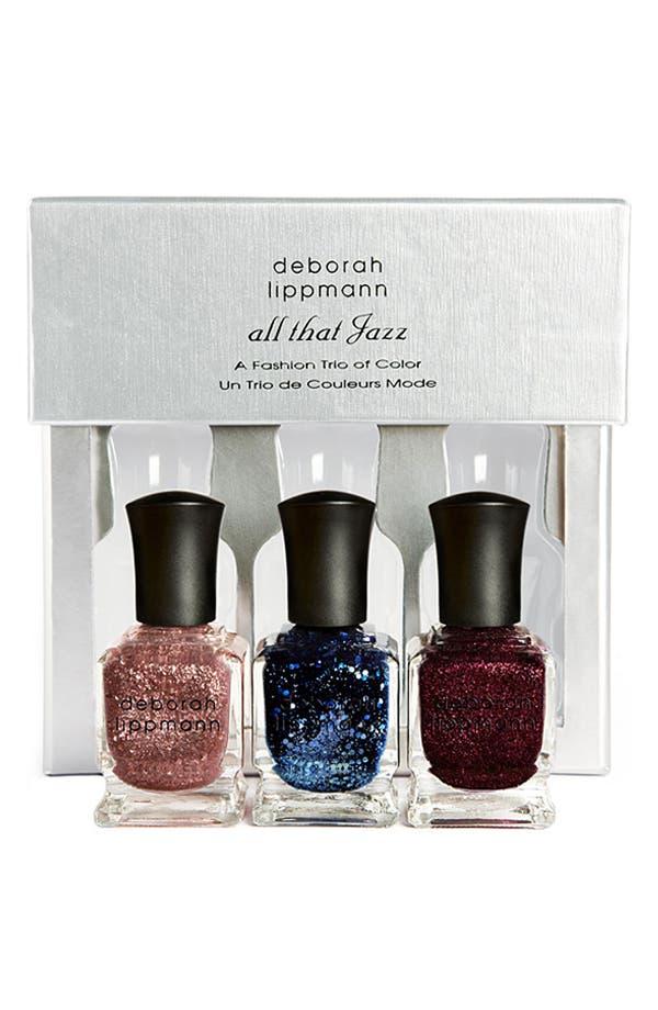 Alternate Image 1 Selected - Deborah Lippmann 'All That Jazz' Color Trio ($54 Value)